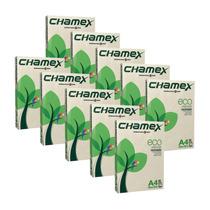 Caixa Com 10 Resmas Papel Folha A4 75g Reciclado Chamex