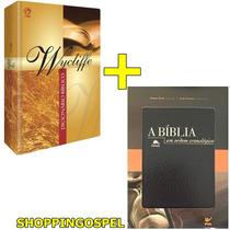 Dicionário Bíblico Wycliffe + Bíblia Em Ordem Cronológica