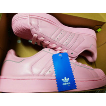Adidas Original Super Color Rosa Pastel Nmd Yeezy Superstar