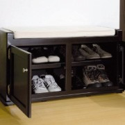 Banco zapatero 15 pares de zapatos pie de cama 2 181 for Cama zapatero