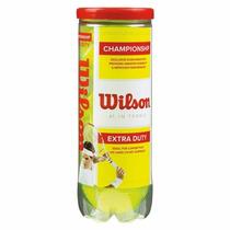 Pelotas De Tenis Extra Duty Championship Wilson Ws001