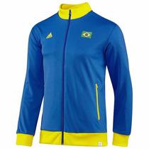 Sudadera De Futbol Brasil Fifa Mundial 2014 Adidas G77791