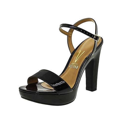 d43b004b8 Sandália Feminina Vizzano Preta Verniz Premium 009101 - R  142