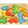 Forminhas Cookie Dino Bolachas Dinossauro Formas Novidade 3d