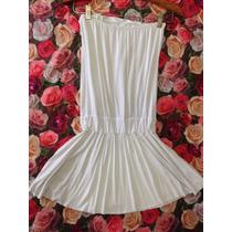 Vestido Malha Branco P