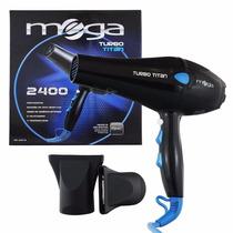 Secador De Cabelos Mega Turbo Titan Profissional 2200w 110v