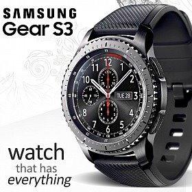 1db0b056870 Relógio Samsung Gear S3 Frontier R760 Smartwatch - R  1.398
