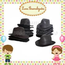 Kit C/ 50 Mini Chapéus Em Eva Decoração (toy Story, Cowboy)