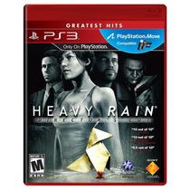 Heavy Rain Director´s Cut Ps3 Compatible Move Nuevo