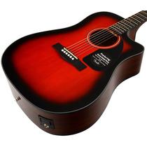 Guitarra Electro Acustica Fender Cd-60ce C/estuche 12 Cuotas