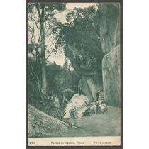 Rio De Janeiro - Furnas De Agassis - Cartão Postal Antigo