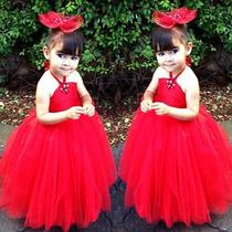 Vestido Princesa Moda Festa Dama De Honra Pronta Entrega