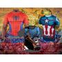 Superheroes, Camisetas, Ropa Estampada, Diseño Único