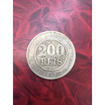 Moeda De 200 Reis De 1889 - República - Cuproniquel