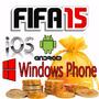 Fifa 15 Coins Android Ios 5.000.000(5kk) - Cubro Os 5%ea