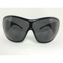 Óculos De Sol Ruthless Preto Para Rosto Grande