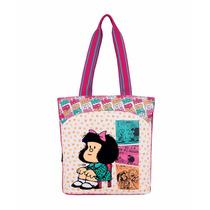 Bolso Escolar Grande Juvenil Mafalda Yelli Mod. Ma60639-p