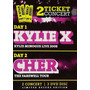 Minogue Kylie - Cher - Two Tickets Concerts Dvd Sb