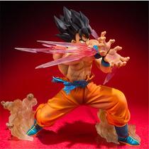 Estátua Goku Soltando Kamehameha - Dragon Ball Frete Grátis