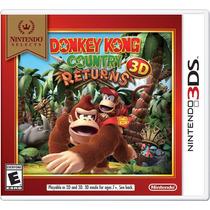 Donkey Kong Country Returns 3d 3ds Nintendo Original