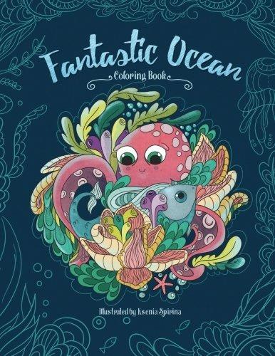 Fantástico Mar De - Un Hermoso Libro Para Colorear Para Niño ...