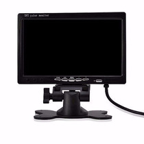 Tela Monitor Lcd 7 Polegadas Portátil Veicular Digital Color