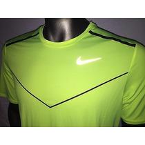 Remera Nike Racing Dri-fit Running Reflactante Original -usa