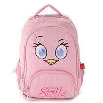 Mochila Angry Birds Stella Rosa - Santino