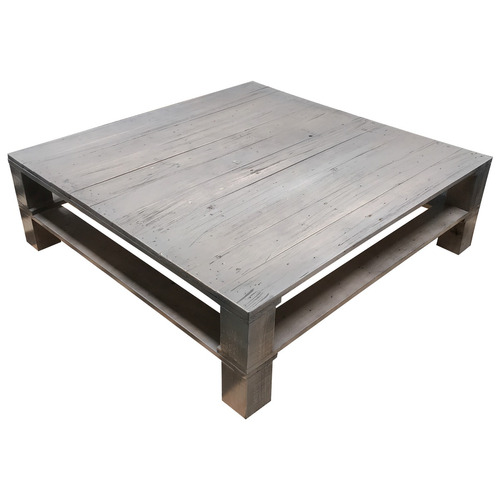 Mesa de centro madera minimalista vintage pallets mesas - Mesa centro palet ...