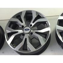 Roda 15 New Fiesta 4x108 Tala 6,0 Ford Ka Grafite Diam A6