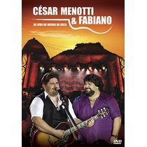 César Menotti E Fabiano - Ao Vivo No Morro Da Urca - Dvd