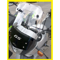 Para-brisa Com Defletor Moto Bmw G650 Gs Em Policarbonato.