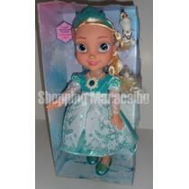Muñecas De Frozen 34 Cm Canta, Habla Y Enciende * Tienda *