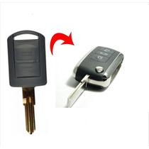 Chave Canivete Meriva Com Placa Bateria Lamina So Codificar