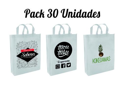 Bolsas Impresas Pack 30 Unidades / Envio Gratis A Todo Chil ...