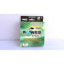 Linea De Seda Trenzada 20 Lb X 300 Yd Power Pro Verde