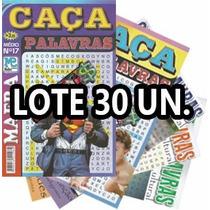 Lote 30 Revistas Caça Palavra Palavras Passatempo