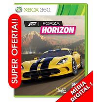 Forza Horizon Xbox 360 Xbox One Em Português Mídia Digital