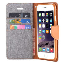 Carcasa, Funda, Tela, Canvas, Mezclilla, Para Iphone 6 Y 6s