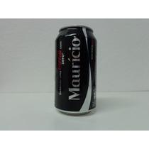 Lata Coca Cola Zero - Nomes - Maurício - Vazia