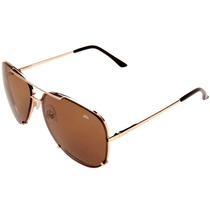 Óculos De Sol Sun John Oregon Dourado