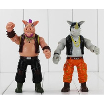 Kit Vilões - Tartarugas Ninja (2 Bonecos)