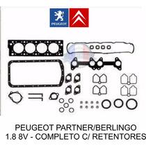 Kit Juntas Motor Completo Partner Berlingo 1.8 C/ Retentores