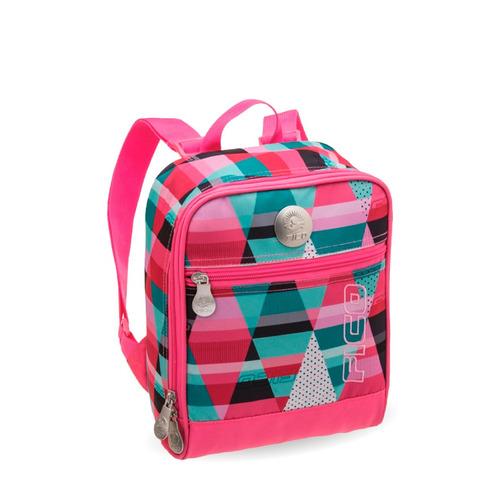 Adesivo De Carros Familia Feliz ~ Lancheira Escolar Rosa Xadrez Fico Promoç u00e3o R$ 79,90 em Mercado L