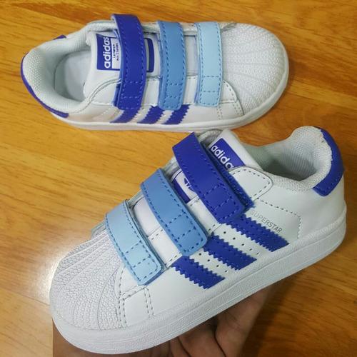 fe993c6ba Tenis Zapatillas adidas Superstar Niños -   148.000 en Mercado Libre