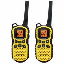 Radios Motorola Ms350mr A Prueba De Agua, 56 Km De Alcance