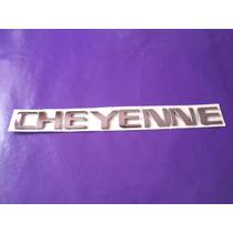 Emblema Cheyenne Camioneta Chevrolet Lateral Tapa Gm