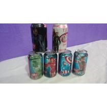 Lote 6 Latas Dr Pepper Edicion Avengers