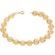 Pulseira Círculos Efeito Luminoso, 20 Ouro Rommanel 550715