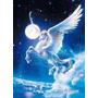 Quebra Cabeça Puzzle 1000 Peças Pegasus Fantasia Unicornio